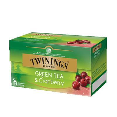 Twinings Green Tea Cranberry Grüntee