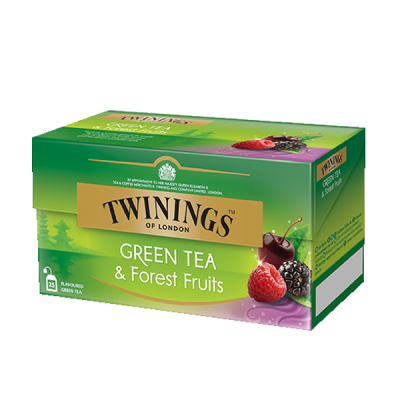 Twinings Green Tea & Forest Fruit Grüntee
